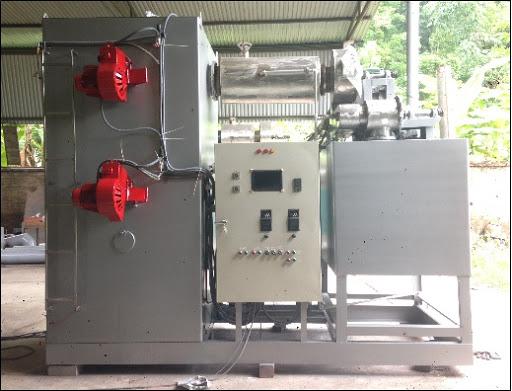 máy xử lý rác thải y tế