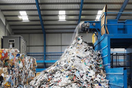 máy xử lý rác thải công nghiệp