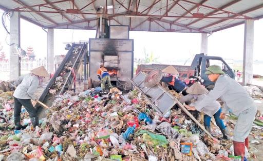 máy xử lý rác thải sinh hoạt