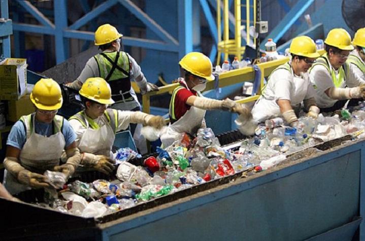 quy trình tái chế nhựa